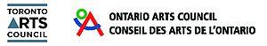 Toronto Arts Council / Ontario Arts Council Logo
