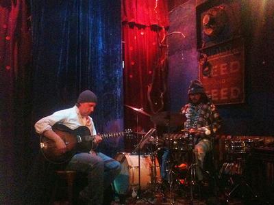 Ken Aldcroft & Dave Clark: Hat & Beard